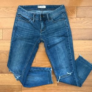 Free People busted knee denim jeans